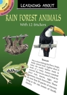 Learning about Rain Forest Animals (Dover Little Activity Books) Cover Image
