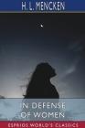 In Defense of Women (Esprios Classics) Cover Image