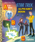 Star Trek Alphabet Book (Star Trek) (Little Golden Book) Cover Image