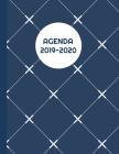 Agenda 2019-2020: SEMAINIER Planning annuel de 53 pages grand modèle Organiser votre semaine. Organisation mensuelle de vos rendez-vous Cover Image