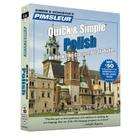 Pimsleur Polish Quick & Simple Course - Level 1 Lessons 1-8 CD: Learn to Speak and Understand Polish with Pimsleur Language Programs Cover Image