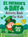 St. Patrick's Day Activity Workbook Cover Image