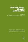 Behavioural Travel Modelling Cover Image