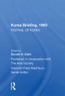 Korea Briefing 1993: Festival of Korea Cover Image