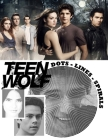 Teen Wolf Dots Lines Spirals: The BEST Coloring Book for Any Fan of Teen Wolf!!! Cover Image