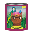 Puz 100 Tin Artsy Cats Frida Catlo Cover Image