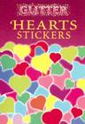 Glitter Hearts Stickers Cover Image