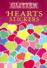 Glitter Hearts Stickers Cover Image