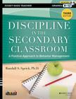 Discipline in the Secondary Classroom: A Positive Approach to Behavior Management [With DVD ROM] Cover Image