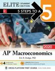 5 Steps to a 5: AP Macroeconomics 2020 Elite Student Edition Cover Image