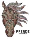 Malbuch Pferde: 50 Pferde Einseitige Designs Pferde Stressabbau Malvorlagen für Erwachsene Geschenk für Pferdeliebhaber zum Ausmalen E Cover Image