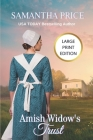 Amish Widow's Trust LARGE PRINT: Amish Romance (Expectant Amish Widows #16) Cover Image
