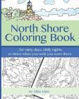 North Shore Coloring Book Cover Image