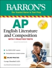AP English Literature and Composition: With 7 Practice Tests (Barron's Test Prep) Cover Image