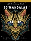 Adult Coloring Book: 50 Mandalas: Stress Relieving Animal Mandala Designs For Relaxation And Meditation Cover Image