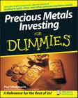 Precious Metals Investing for Dummies Cover Image