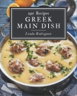 295 Greek Main Dish Recipes: A Timeless Greek Main Dish Cookbook Cover Image
