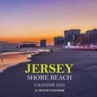 Jersey Shore Beach Calendar 2020: 16 Month Calendar Cover Image