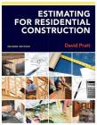 Estimating for Residential Construction Cover Image
