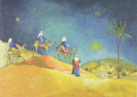 Three Kings Deluxe Boxed Holiday Cards Cover Image