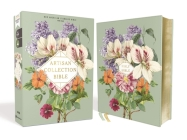 Nasb, Artisan Collection Bible, Leathersoft, Sage Floral, Red Letter Edition, 1995 Text, Comfort Print Cover Image