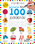 Wipe Clean: First 100 Words Bilingual (Spanish/English) Cover Image