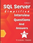 SQL Server Simplified: Interview Questions and Answers Cover Image