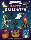 Happy Halloween Coloring and Activity Book Cover Image