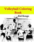 Volleyball Coloring Book Cover Image