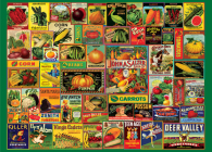 Vintage Seed Packets 1000 Piece Jigsaw Puzzle Cover Image