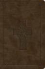 ESV Compact Bible (Trutone, Olive, Celtic Cross Design) Cover Image