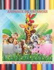ANIMAUX DE VACANCES - Livre De Coloriage Pour Enfants Cover Image