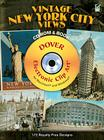 Vintage New York City Views [With CDROM] (Dover Electronic Clip Art) Cover Image