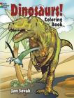 Dinosaurs! Coloring Book (Dover Nature Coloring Book) Cover Image