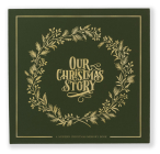 Our Christmas Story: A Modern Christmas Memory Book Cover Image