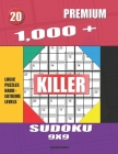 1,000 + Premium sudoku killer 9x9: Logic puzzles hard - extreme levels Cover Image