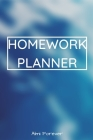 Homework Planner: Over 110 Pages / Over 15 Weeks; 6 x 9 Format 1.4 Cover Image