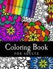 Coloring Book For Adults: Relaxing Adult Coloring Book Cover Image