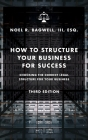 How to Structure Your Business for Success: Choosing the Correct Legal Structure for Your Business Cover Image