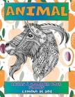 Livres à colorier pour femmes - L'amour de soi - Animal Cover Image