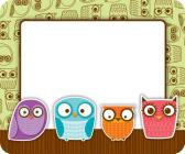 Owls Name Tags Cover Image