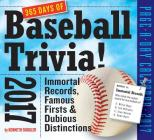 365 Days of Baseball Trivia! Page-A-Day Calendar 2017 Cover Image