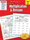 Scholastic Success With Multiplication & Division: Grade 3 Workbook Cover Image