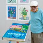 David Hockney. A Bigger Book Cover Image