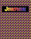 120 Page Handwriting Practice Book with Colorful Alien Cover Josephine: Primary Grades Handwriting Book Cover Image