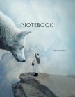 Notebook: wolf spirituality girl large mystical fog mood spiritual body mind spirit Cover Image