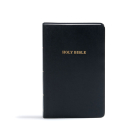 KJV Gift and Award Bible, Black Imitation Leather: Red Letter, Easy-to-Carry, Smythe Sewn, Full-Color Maps, Double Column, Concordance, Dictionary, Great Value Cover Image