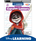 Trace with Me Disney/Pixar Cursive Letters [With Dry-Erase Pen] Cover Image