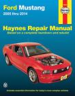 Ford Mustang 2005 thru 2014 Haynes Repair Manual Cover Image