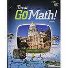 Holt McDougal Go Math! Texas: Student Interactive Worktext Grade 7 2015 Cover Image